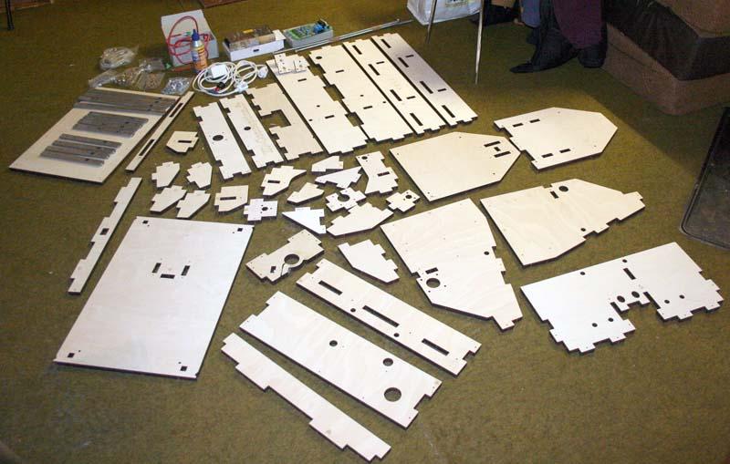 Mini Fraiseuse CNc en Kit 0411