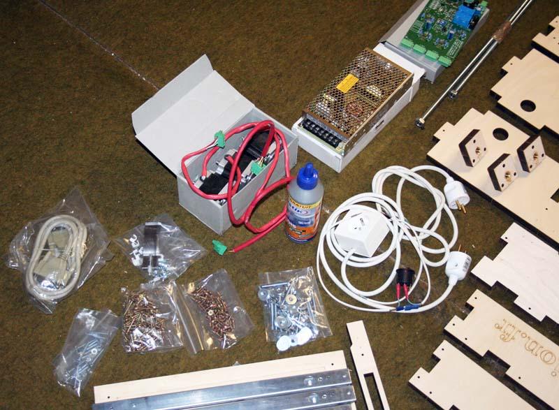 Mini Fraiseuse CNc en Kit 0511
