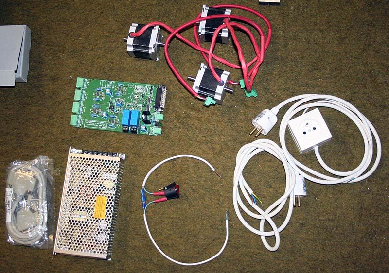 Mini Fraiseuse CNc en Kit 0811