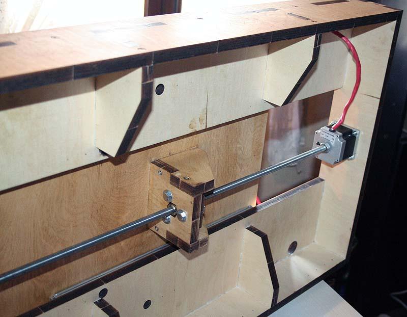 Mini Fraiseuse CNc en Kit 2011