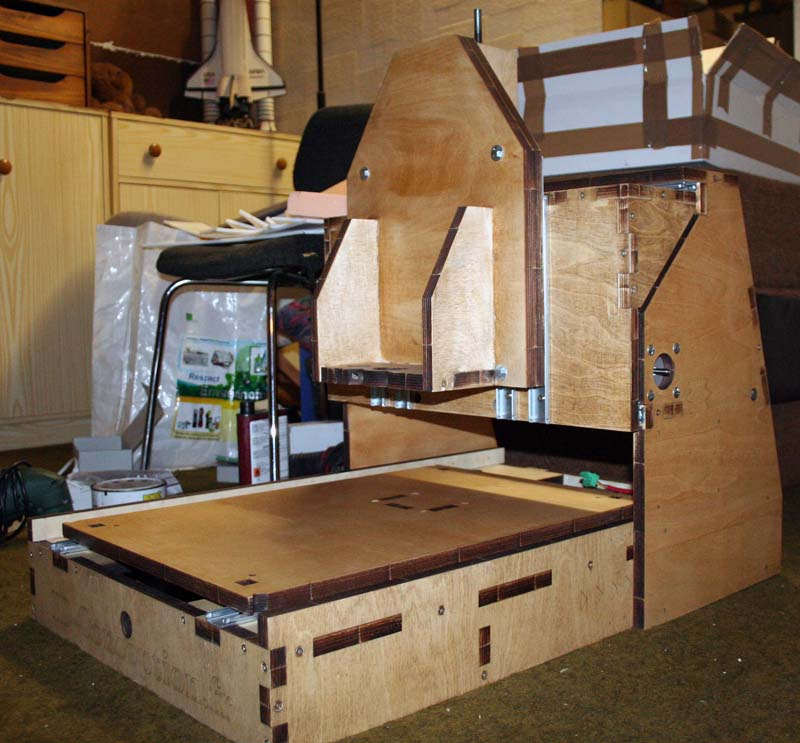 Mini Fraiseuse CNc en Kit 2711