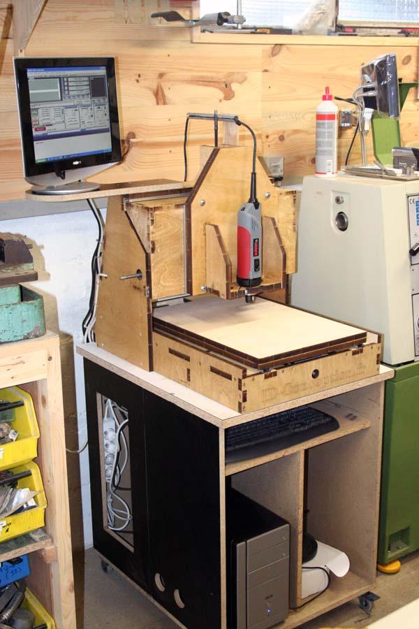 Mini Fraiseuse CNc en Kit 2811