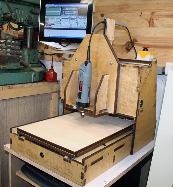 Mini Fraiseuse CNc en Kit 2911