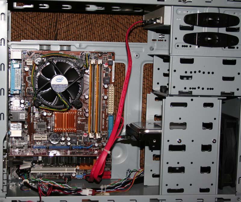 Un nouveau PC pour l'atelier 29sata10