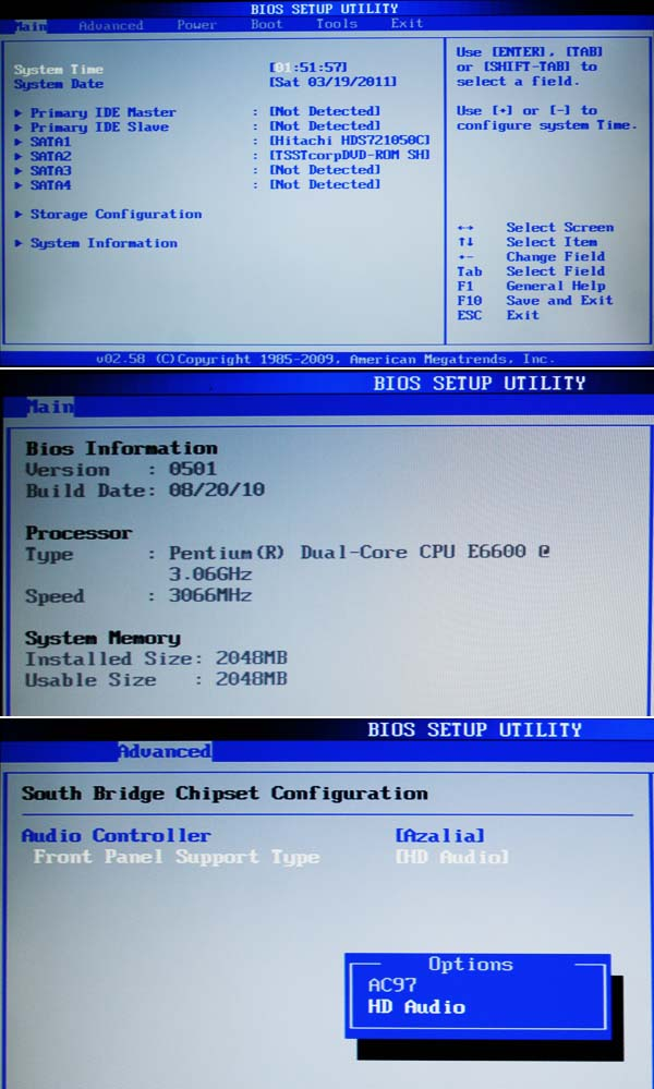 Un nouveau PC pour l'atelier 41bios10