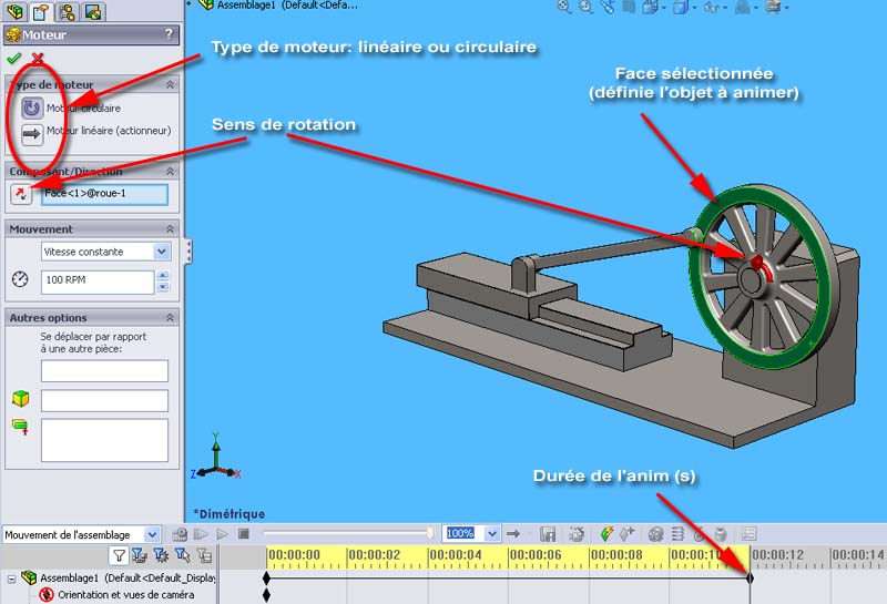 [SolidWorks] Animations basiques Anim_m10