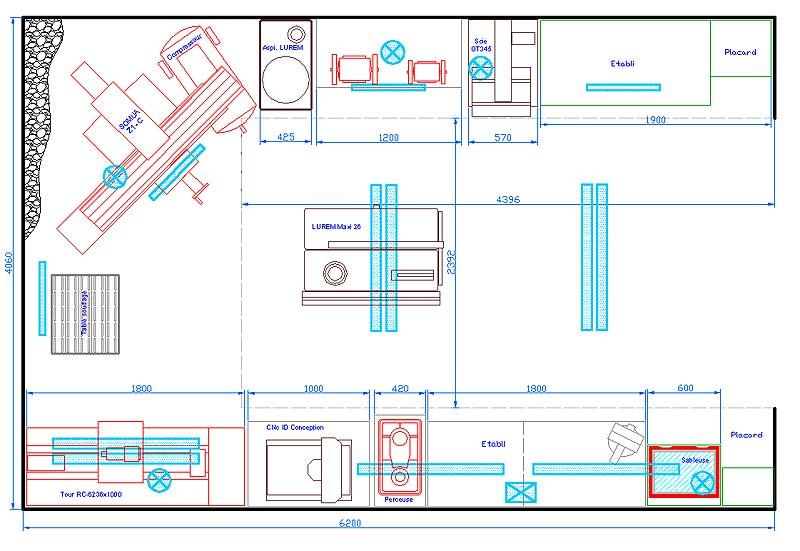 Eclairage atelier Eclair10