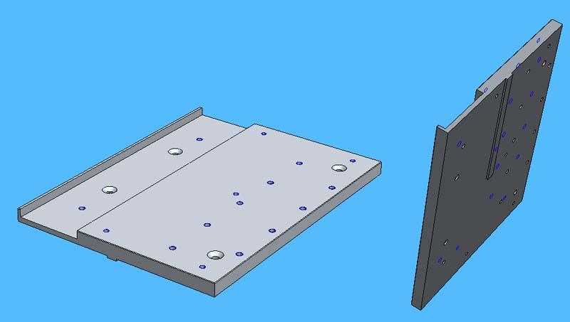 Mini Fraiseuse CNc en Kit Embase10