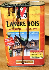 Chalet pour (gros) Chat - Page 5 Lasure10