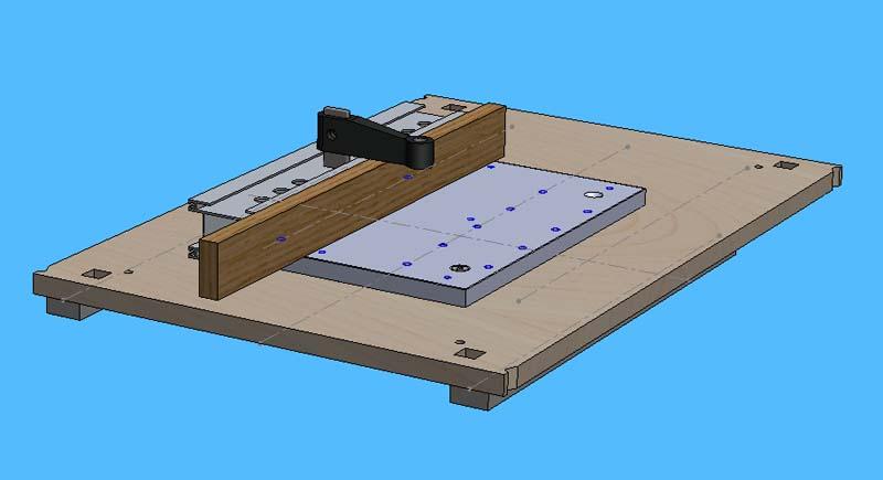 Mini Fraiseuse CNc en Kit Mont_u10