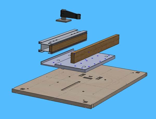 Mini Fraiseuse CNc en Kit Mont_u11