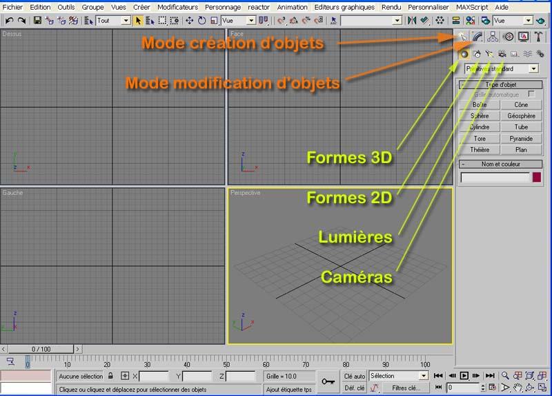 [3DSmax] Texturage sous 3DSmax - 01 Tx0110