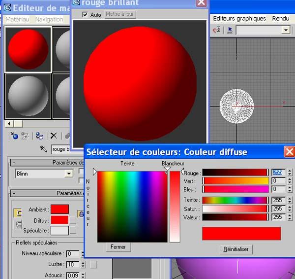 [3DSmax] Texturage sous 3DSmax - 01 Tx0810