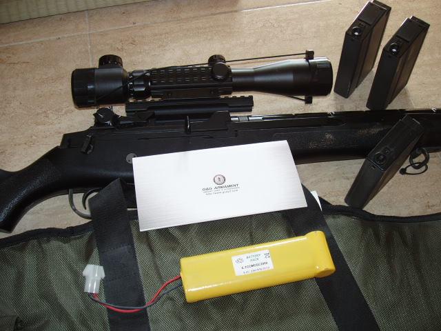 VENDO M-14 G&G ARMAMENT Y COMPLEMENTOS P1010035