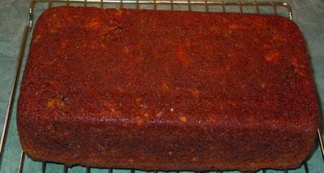 Gâteau aux carotte & sirop d'érable Gateau12
