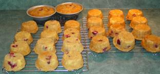 Muffins aux canneberges et à l'orange d'Angélina Muffin10