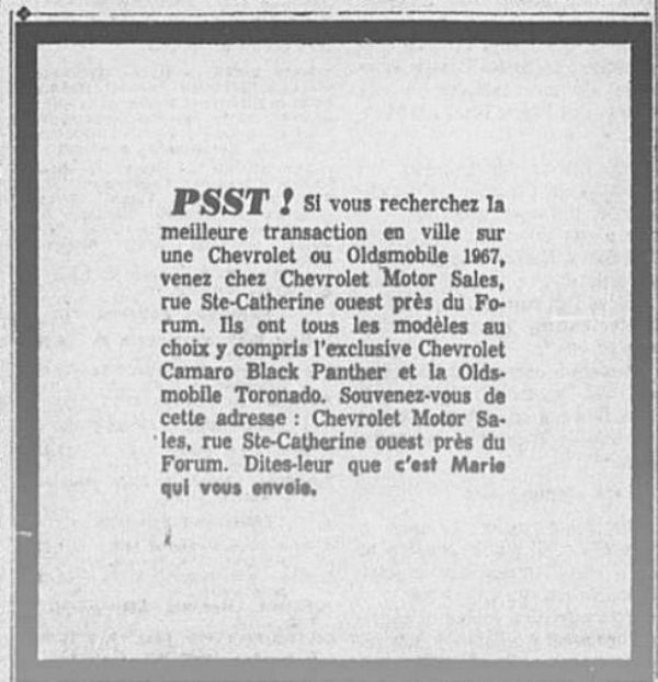 Mecum Chicago : Camaro Black Panther  1967_010