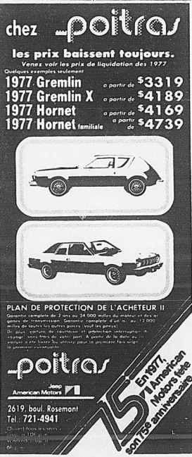 Vieilles publicités AMC au Québec - Page 2 1977_010
