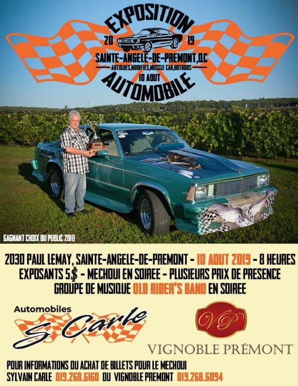 Show Ste-Angèle-de-Prémont, 10 août 2019 Vignob10