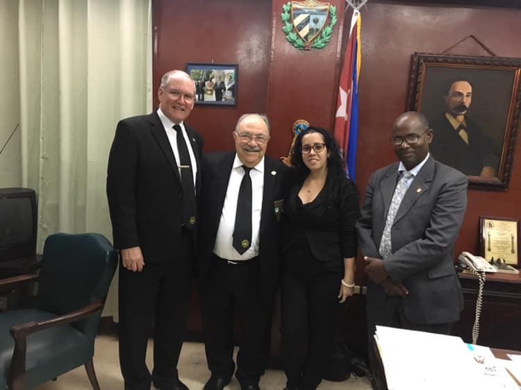 Visita del MRGM de la Florida John E. Karroum a la Gran Logia de Cuba 0043c310