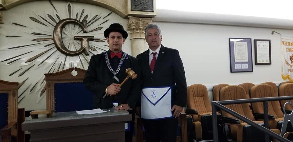 La Logia Renacer No. 410 recibe la visita del Soberano Gran Comendador de la república de Cuba  José Ramón Viñas, 0c947610
