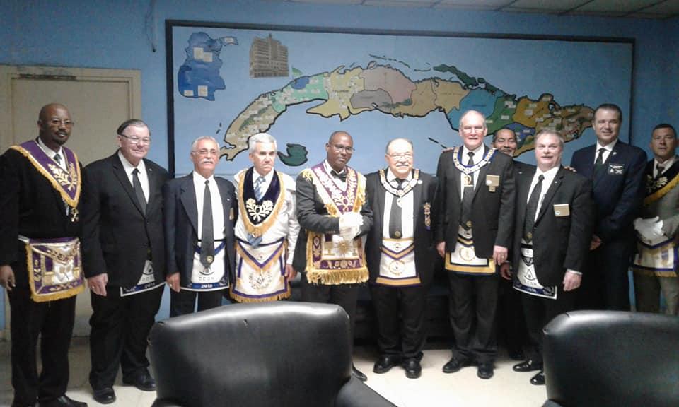 Visita del MRGM de la Florida John E. Karroum a la Gran Logia de Cuba 0e8f5610