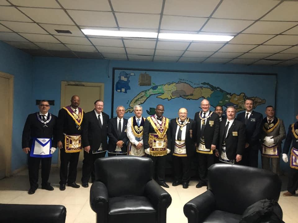 Visita del MRGM de la Florida John E. Karroum a la Gran Logia de Cuba 16cac110