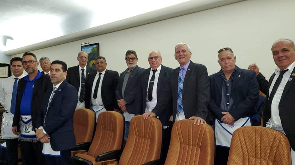 La Logia Renacer No. 410 recibe la visita del Soberano Gran Comendador de la república de Cuba  José Ramón Viñas, 20799d10