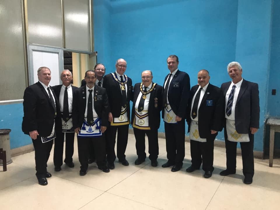 Visita del MRGM de la Florida John E. Karroum a la Gran Logia de Cuba 28065410