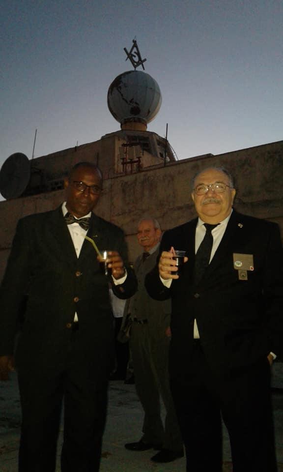 Visita del MRGM de la Florida John E. Karroum a la Gran Logia de Cuba 372d4710