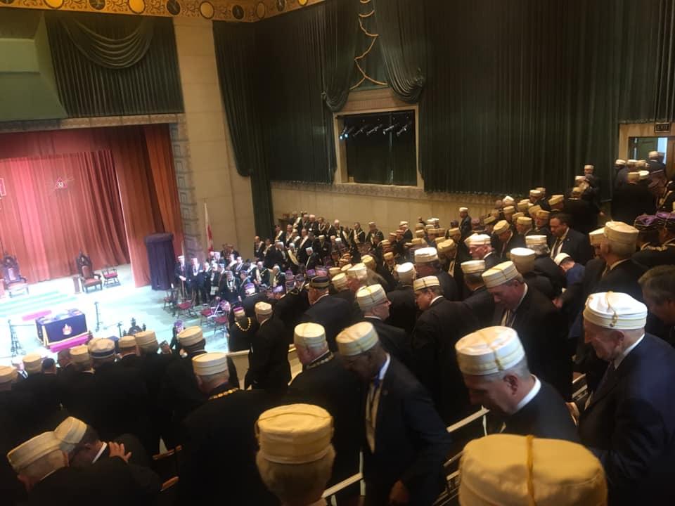 218 Reunión Bianual del Supremo Consejo del Grado 33, Jurisdicción Sur de los EE. UU. 37ece810