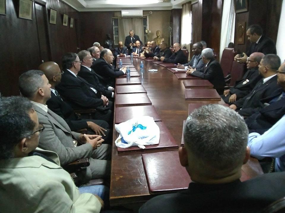 Visita del MRGM de la Florida John E. Karroum a la Gran Logia de Cuba 49d42310