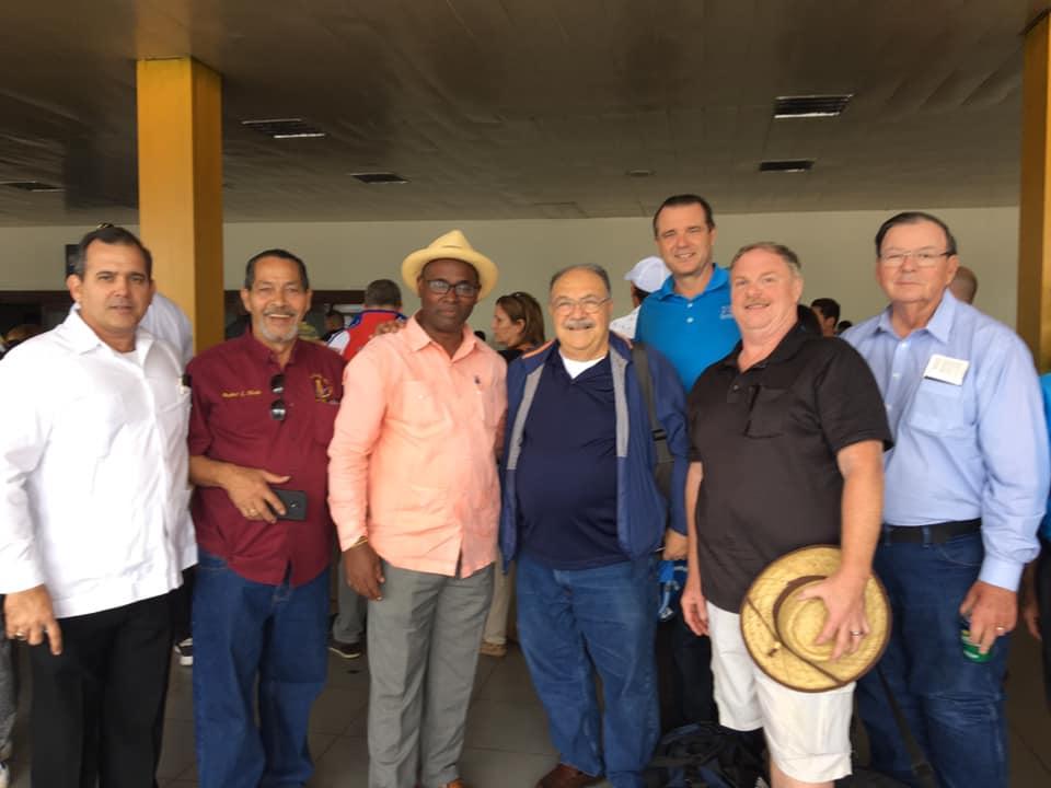 Visita del MRGM de la Florida John E. Karroum a la Gran Logia de Cuba 4badf410