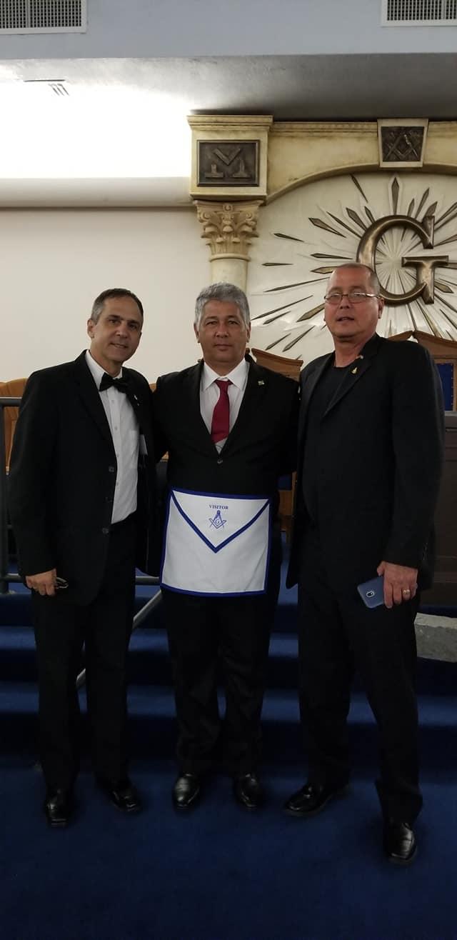 La Logia Renacer No. 410 recibe la visita del Soberano Gran Comendador de la república de Cuba  José Ramón Viñas, 5ac2fa10