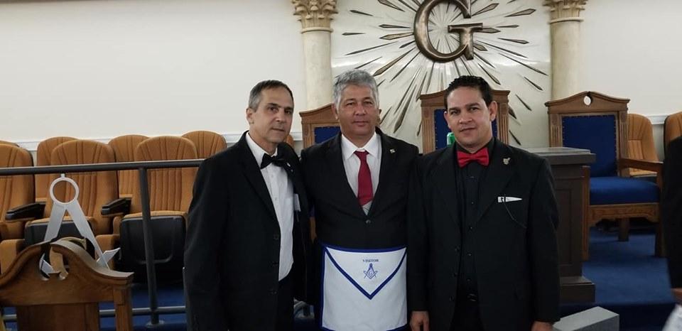 La Logia Renacer No. 410 recibe la visita del Soberano Gran Comendador de la república de Cuba  José Ramón Viñas, 6ffc1c10