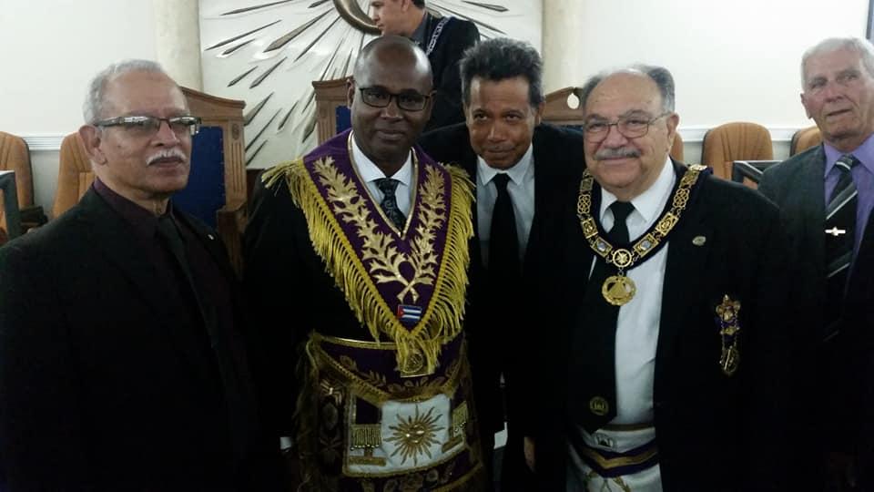 Visita del MRGM Ernesto Zamora a la Logia Renacer No. 410 7775e410