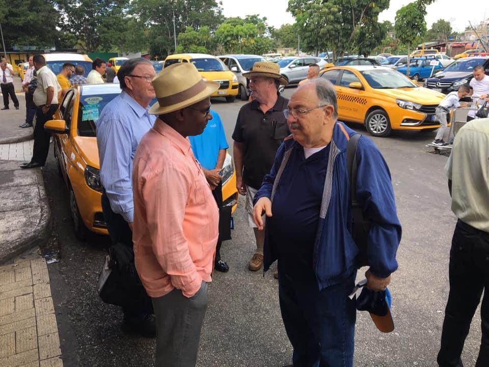 Visita del MRGM de la Florida John E. Karroum a la Gran Logia de Cuba 84036210