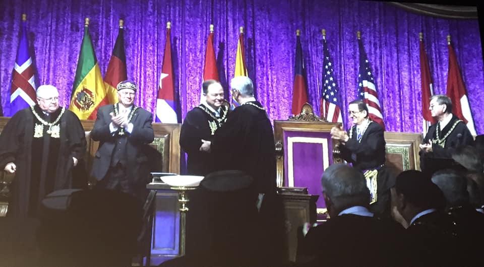 218 Reunión Bianual del Supremo Consejo del Grado 33, Jurisdicción Sur de los EE. UU. 918e5910