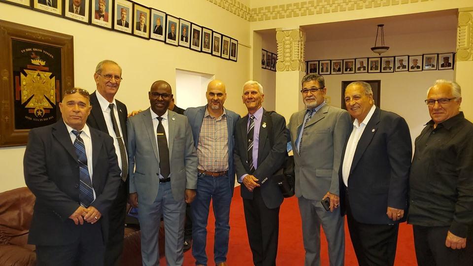 Visita del MRGM de la GL de Cuba Ernesto Zamora Fernandez a la Logia Luz de America No. 255 96bcd310