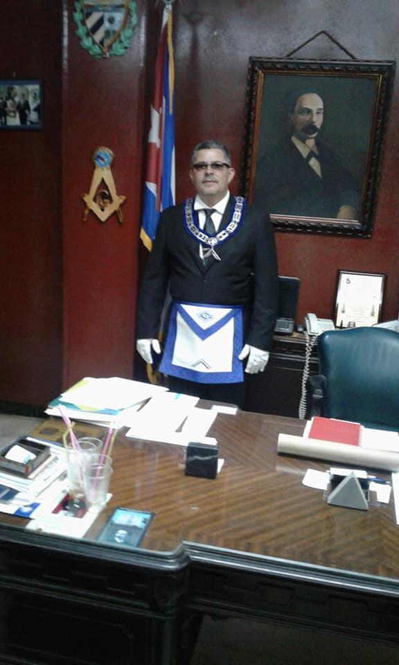 Visita del MRGM de la Florida John E. Karroum a la Gran Logia de Cuba 978e5210