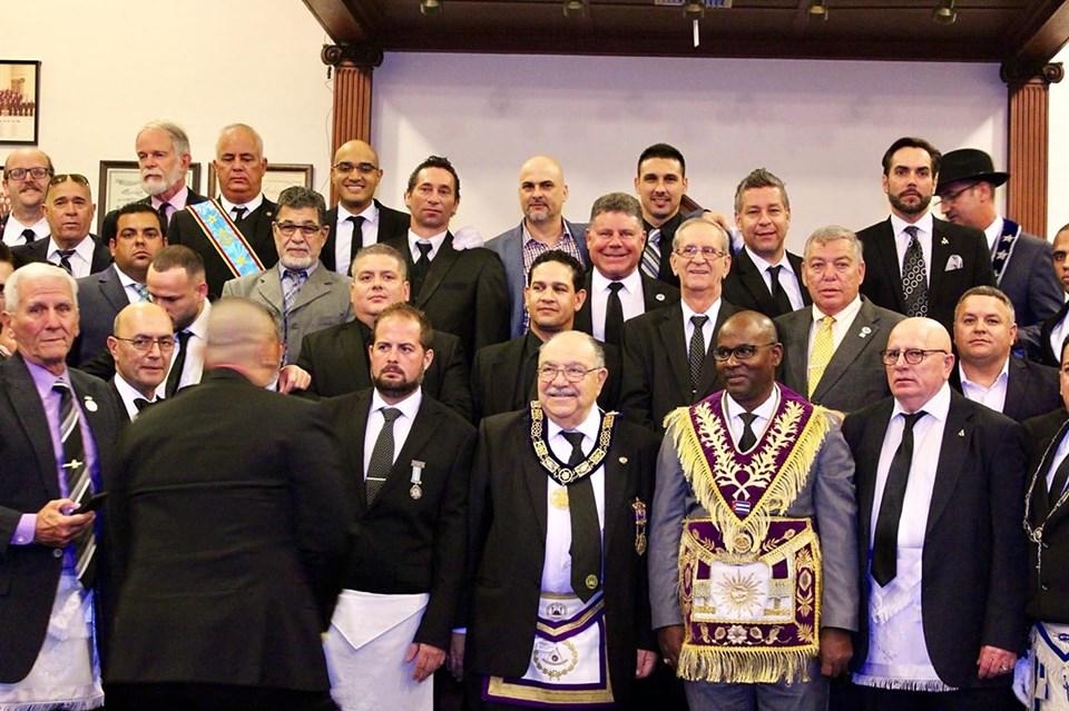 Visita del MRGM de la GL de Cuba Ernesto Zamora Fernandez a la Logia Luz de America No. 255 9e5b3510