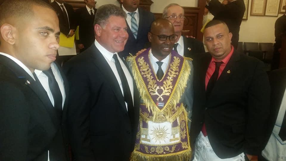 Visita del MRGM de la GL de Cuba Ernesto Zamora Fernandez a la Logia Luz de America No. 255 A0abd710