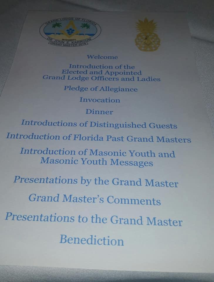 190th Grand Annual Communication* GL de la Florida A9a29910