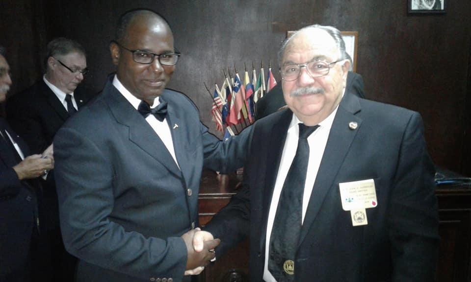 Visita del MRGM de la Florida John E. Karroum a la Gran Logia de Cuba Afaa2910