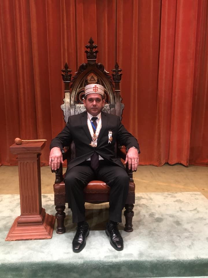 218 Reunión Bianual del Supremo Consejo del Grado 33, Jurisdicción Sur de los EE. UU. C0ff0810