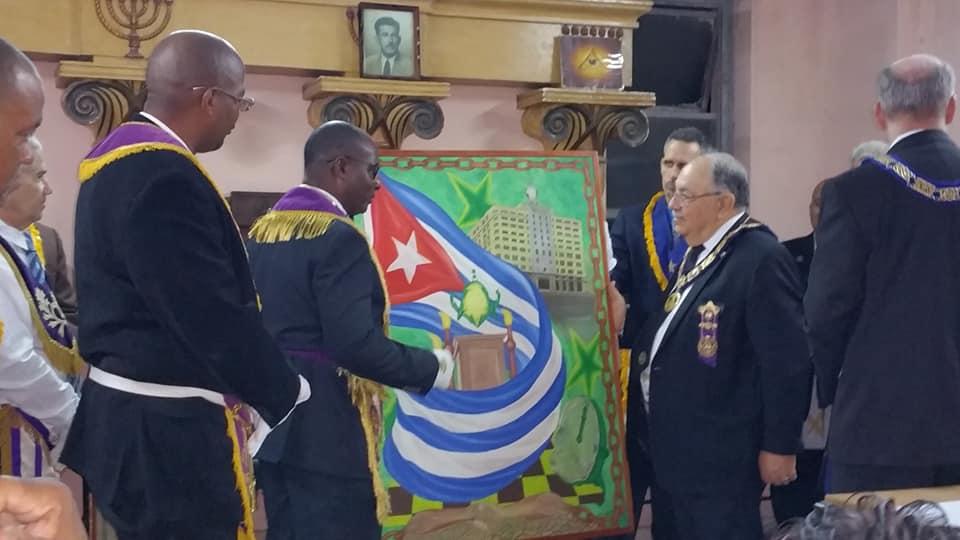 Visita del MRGM de la Florida John E. Karroum a la Gran Logia de Cuba C87ce810