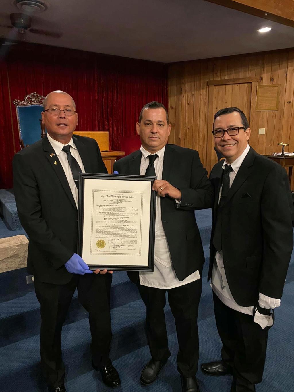 Recibe Carta Patente la Logia Fraternidad No. 414 Cdfcf910