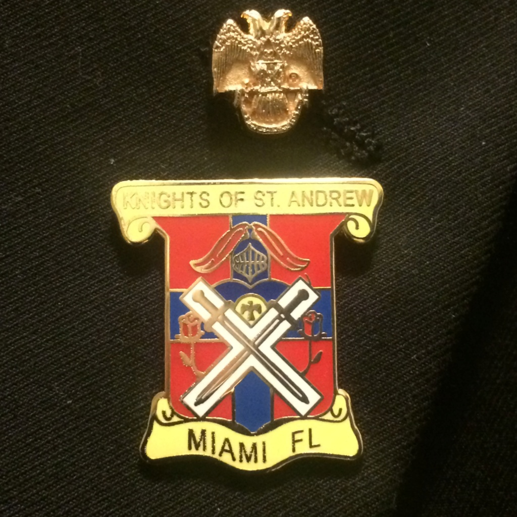 Knights of St. Andrew Valle de Miami, Oriente de la Florida Ce235210