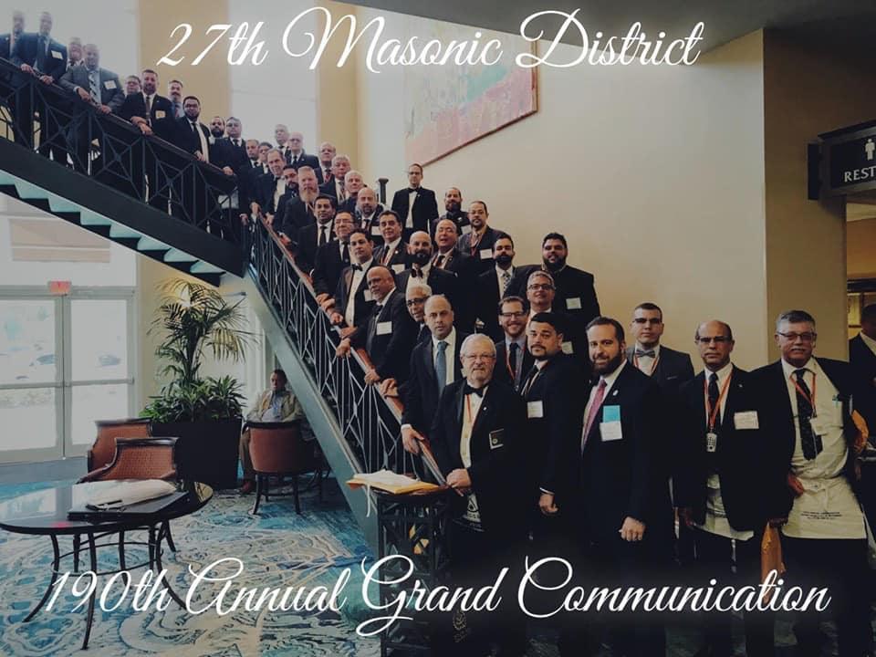 190th Grand Annual Communication* GL de la Florida F1fc5310