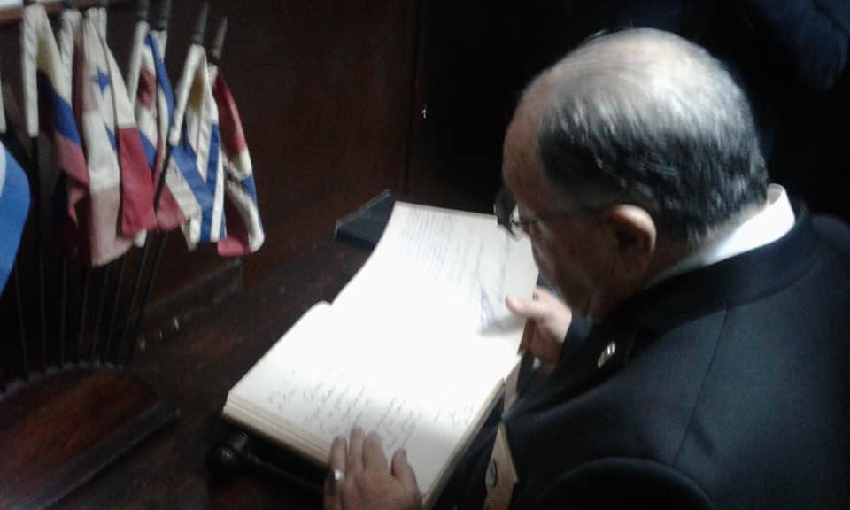 Visita del MRGM de la Florida John E. Karroum a la Gran Logia de Cuba F6771310